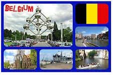 BELGIUM - SOUVENIR NOVELTY FRIDGE MAGNET - BRAND NEW - GIFT