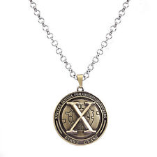 New X-Men Marvel Surgical Stainless Steel Pendant Chain Necklace