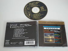 DINAH WASHINGTON/WHAT A DIFF'RENCE A DAY RENDE MFSL UDCD 698) MFSL CD ALBUM
