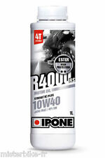 "Bidon 1 litres d' Huile Ipone "" R4000RS 10W40"" semi-synthèse, 1L"
