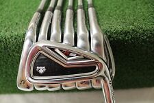 Used TaylorMade R9 TP 4-PW Iron Set Regular Flex Steel Shafts Used RH