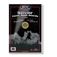 Silver Comic Backing Boards x 100