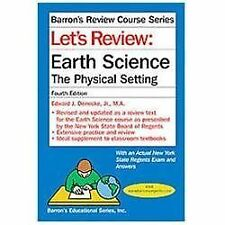 LET'S REVIEW: EARTH SCIENCE THE PHYSICAL SETTING - FOURTH EDITION - BARRON'S