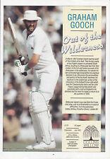 Essex & Inglaterra Cricket Graham programa de beneficios de Gooch firmado y 11 jugadores Essex