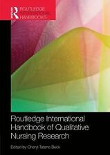 Routledge International Handbook of Qualitative Nursing Research (Routledge Hand