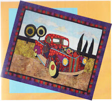 Papa's Pickup - fun applique & pieced truck wall quilt PATTERN - BJ Designs