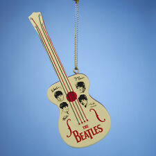 KURT S. ADLER OFFICIAL THE BEATLES RETRO TOY GUITAR CHRISTMAS TREE ORNAMENT