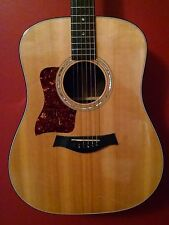 Left handed Taylor 710 acoustic guitar with Fishman Matrix pickup
