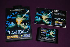 FLASHBACK - Delphine Software/U.S. Gold - Jeu Action Aventure Mega Drive PAL