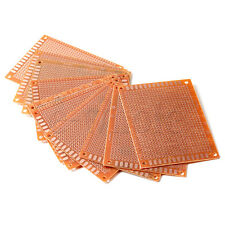 10pcs 7x9cm Solder Finished Prototype PCB for DIY Circuit Board Breadboard TW