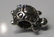 Authentic PANDORA Sterling Silver Turtle Charm #790158 RETIRED