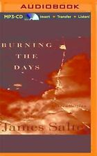 Burning the Days : Recollection by James Salter (2016, MP3 CD, (FREE 2DAY SHIP)