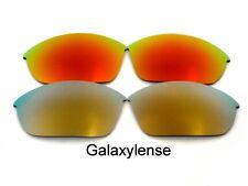 Galaxie Verres De Rechange Pour Oakley Half Jacket 2.0 Doré & Rouge polarisé