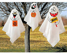 3 Halloween Hanging Ghosts Decoration Ideal Party ,Garden Decor Free Postage
