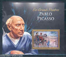 CENTRAL AFRICA 2012  THE GREATEST PAINTERS PABLO PICASSO  SOUVENIR SHEET NH