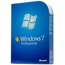 Microsoft Windows 7 Professional 32/64bit código de producto genuino + Hardware