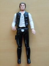 Vintage 1977 Star Wars Han Solo Small Head First 12 Kenner Variant