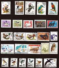 TOUS PAYS  Oiseaux  ,canards,oies,perroquets     1m420