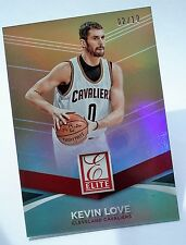 "2014-15 Panini  DONRUSS NBA  #6 KEVIN LOVE  Elite Status ""GOLD REFRACTOR""  2/10"