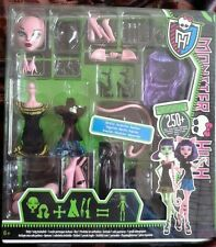 Monster high doll RARE CAT from Witch/Cat Create A Monster set BNIB