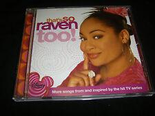 That's So Raven Too! by Raven-Symon' (CD, Mar-2006, Walt Disney)