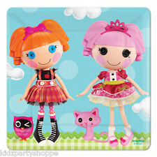 LALALOOPSY DESSERT PLATES Birthday Party Supplies Tableware