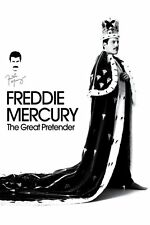 DVD -  FREDDIE MERCURY  THE GREAT PRETENDER  (NEW SEALED)