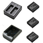 USB Dual Travel Charger set Battery For SJCAM SJ4000 SJ5000 M10 Sport Camera DVR