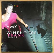"AMY WINEHOUSE FRANK ALBUM SAMPLER 12"" VINYL Album 4 Tracks,IN MY BED,STRONGER"