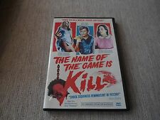 The Name of the Game is Kill (1968) [1 Disc] (DVD)