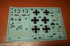 AIRFIX  MESSERSCHMITT Bf 109 E 02048  1:72 scale decals