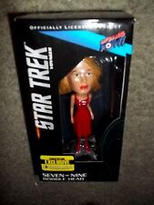 2014 STAR TREK VOYAGER SEVEN OF NINE BOBBLE HEAD - CONVENTION EXCLUSIVE