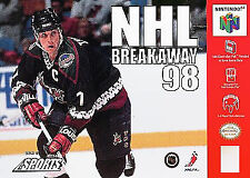 NHL Breakaway 98 (Nintendo 64, 1998) no cover
