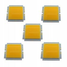 5 PCS 10W 45x45mm Warm White COB Led Ceiling Lamp Chip Light Source 6000K 29-36V
