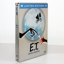 E.T. L'EXTRA-TERRESTRE [STEELBOOK LIMITED EDITION DVD + BLU-RAY] 5053083043681