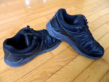 Womens NEW BALANCE 410 Leather Athletic Walking Shoes_Black_Size 7 D Wide W