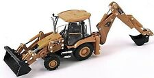 JCB 3CX - Back Hoe Loader 1/87th Scale (H0 Gauge) Yellow/Black - Tracked 48 Post