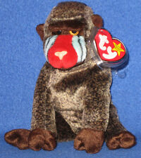 TY CHEEKS the BABOON BEANIE BABY - MINT with MINT TAG