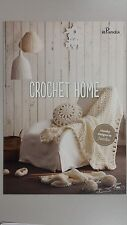 Panda Pattern Leaflet #808 Crochet Home Pattern for Slippers Cushion or Rug