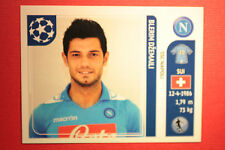 PANINI CHAMPIONS LEAGUE 2011/12 N 67 DZEMAILI NAPOLI WITH BLACK BACK MINT!!