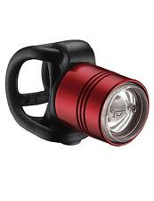 Lezyne femto Drive LED Frontal luz, resistente al agua, aluminio, silicona Strap, rojo
