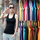 Hot Sexy Women's Lady Casual Vest Tank Tops Sleeveless Cami Blouse T-Shirt Cool