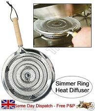 Simmer Ring / Tagine Heat Diffuser Prevent Burning & Scorching Gas Electric 21cm