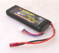 """Batteria LiPo da 7,4v 2000mAh 2S 30C RX Li-Po """"POTENTISSIMA""""  92x33x11mm"""
