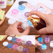 Portable 5g Cosmetic Jar Cream Empty Bottle Make-up Containers Mini storage box