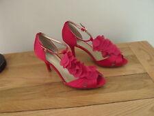 BN MONSOON Pink Corsage Sandal Strappy shoe size approx 5-eu size 38-RRP£65
