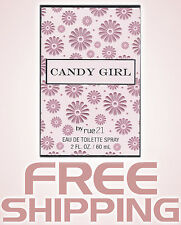 CANDY GIRL PERFUME FRAGRANCE SPRAY FOR HER WOMEN rue21 - 2 OZ NEW IN BOX