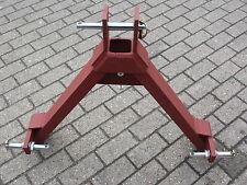 Gerätedreieck Kat 1-2-3 und Dreipunktaufnahme Kuppeldreieck für Schlepperdreieck