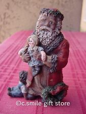 "Sarah's Attic 'Love The Children Santa"" Flat Back Le Figurine #3672 w/Coa Rare!"