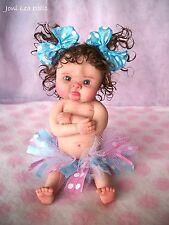 "❤OOAK FULLSCULPT BABY GIRL ""POUTY PRICILLA""  BY JONI LEA * DOLLY-STREET❤"